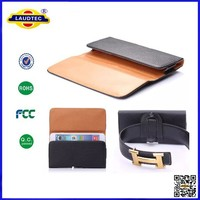 Leather Belt Clip Pouch Holster Case Cover for iPhone 5 5S 5C 6 Laudtec