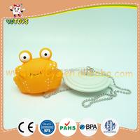 A bathtub plug with vinyl crab bath toys, OEM item baby bathtub plug