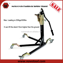Factory Competitive Price High Quality 500LB Steel Motorcycle Spider Stand