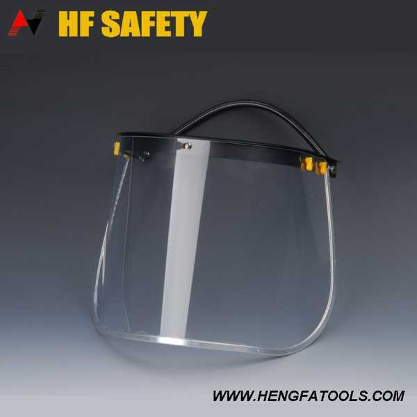 Face Shield CE and ANSI Standard blue shield face mask