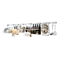 Kitchen Shelf Kitchen Wall Mount Storage Rack