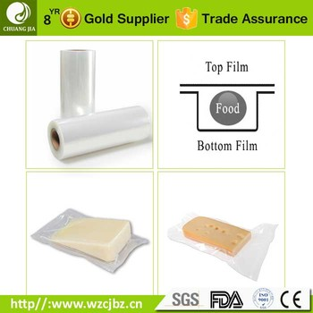 9 layer high barrier cast roll food packaging bottom web plastic vacuum forming film