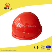 High quality FRP safety helmet with chin strap