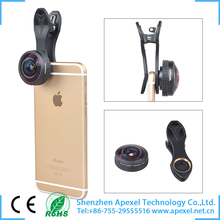 2016 hot mobile products for united states mobile lens new clip removable full range 238 super fish eye lens