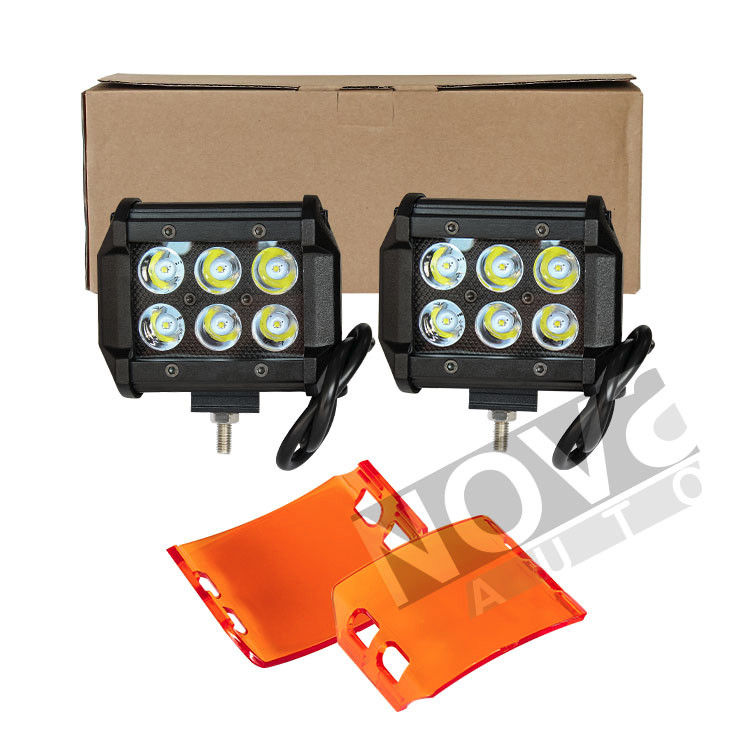 Chinese Supplier Cr ee 18W Jeep Led Headlight Led Light Bar