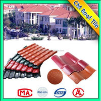 China Supply Light Weight Building Materials Synthetic Resin Roof Tile