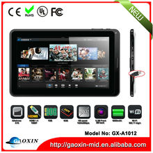 Factory wholesales 10inch a31 cefiro quad core tablet pc in low price