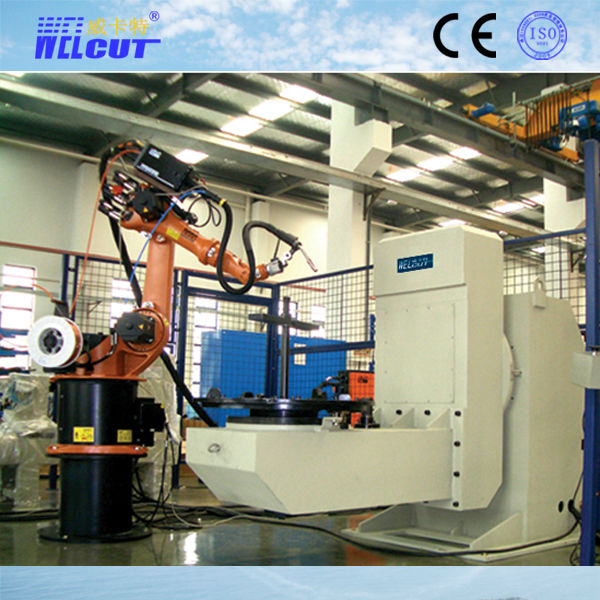 automatic welding robot/Arc robotic total station/Robot headtail stock positioner
