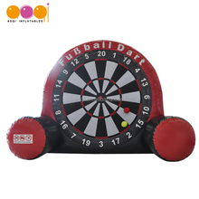AOQI sport gane inflatable dart game/inflatable soccer darts