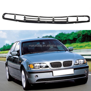 For BMW 3Series E46 2001-2006 Vehicle Body Car Grille Grill Plastic Trims
