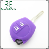 Excellent Quality Bright Color Automobile Silicone Key Cover for Suzuki with Car Logo