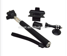 Good quality Extendable Monopod Set with Tripod Mount Screw and Remote Clip for GoPro Hero 4/3+/3