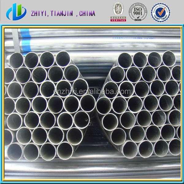 Hot dipped galvanized steel pipe and astm a500 grade b steel pipe with best steel pipe price