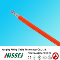 Chinese manufacturers Wires And Cables UL3262 Resistant Heat Wire Silicone Rubber Insulation Motor Lead Wire