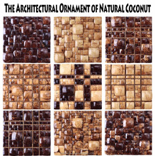 These Amazing Coconut wall panel make your home Brilliant!