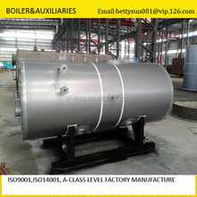 SGS report 1000kg/h nature gas&diesel fired steam boiler for food industry