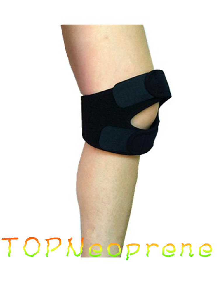 Neoprene Knee Brace Dual Action Support Tension Straps