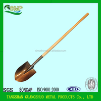 agriculture tools long wooden handle shovel S518L