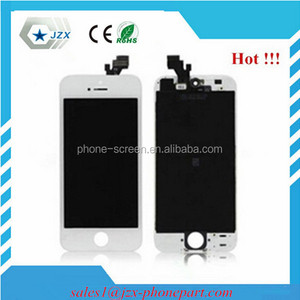 ShenCao/JDF/TianMa LCD with glass digitizer For iphone 5 touch screen with full warranty