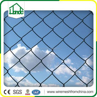 green and black winly square chain link fence price