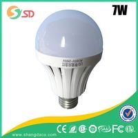 7w, $1.5, 400 lumen gu10 led light bulb, christmas candle bridge light,e27 led lamp bulb rechargeable
