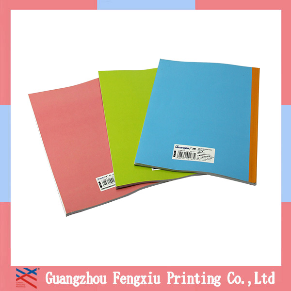 Top Quality Cheap Custom Notebook/school exercise books/Diary note book