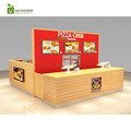 2017 hot selling fast food kiosk and pizza kiosk design in mall for sale