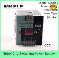 LP-500-24 20A din rail 500w dc 24vdc switching mode power supply 500w with digital display