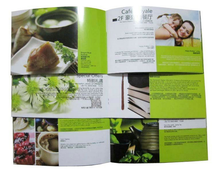 Food/ Leisure and Travel a3/a4/a5/a6 catalogue / brochure printing