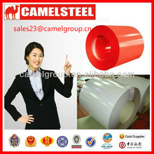 Camelsteel brand 0.15-0.7mm PPGI coil--corrugated roofing sheet from Shandong China