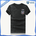 Wholesale short sleeve printed t-shirt customize men embroidery designs no name brand t-shirts