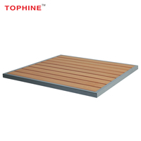 TOPHINE Furniture Garden Square Plastic Wood