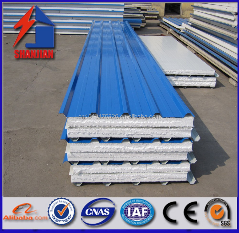 2015 china hot sale EPS sanwich panel for container house for southeastern Asia