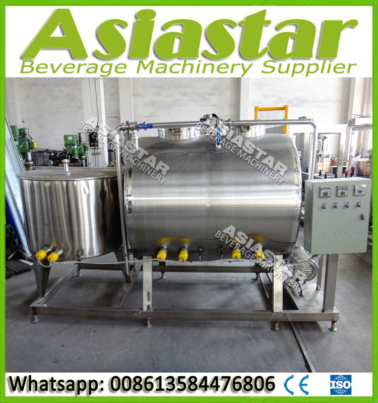 Automatic cip site rinsing systems for beverage production line