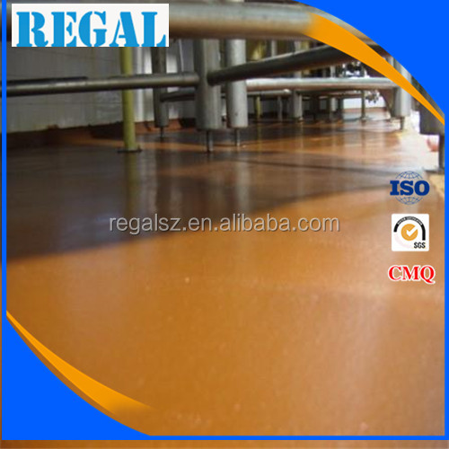 High performance polyurethane rubber flooring non-slip use