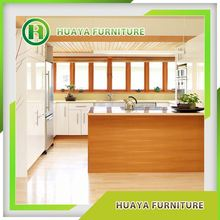 Modern Design Pecan Wood Kitchen Cabinets Factory Price