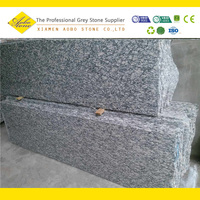 Spary white granite wall tile caldding