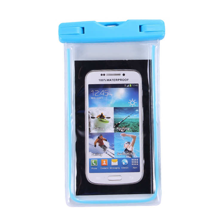 Universal PVC Dry Bag Mobile Phone Waterproof Pouch swimming mobile phone waterproof bag