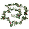 Hot Sell 220cm Christmas Decrative Holly Garland