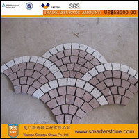 Driveway cobblestone granite pavers for sale,Stone garden floor