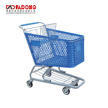 cheapest supermarket shopping plastic trolley cart