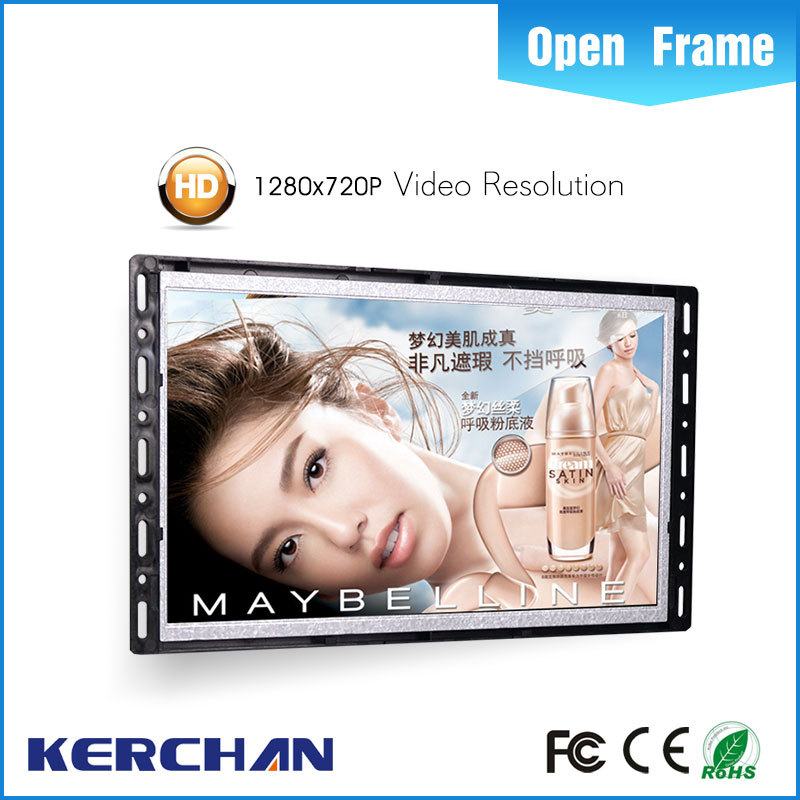 "7 Inch Open frame Hot Video Player/5"" tft lcd touch screen module"