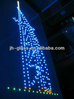 Led Glass For Store Decoration