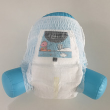 High Absorption Printed Ultra Thin Anti-leak Sleepy Baby Diaper Nappy