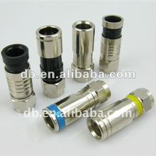 Cable coaxial RG6 Conector De Compression F