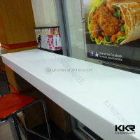 Restaurant Easy Clean Fast Food Counter Top