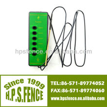 (China manufacturer)2013 New products electric fence 1000V-6000V plastic ranch six-light fence line tester for fence