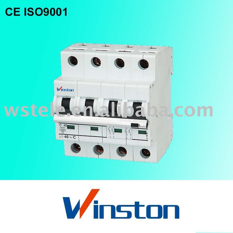 L7 4poles Mini circuit breaker