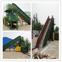 professional automatic paper and plastic baler/Scrap Paper Balers Machine
