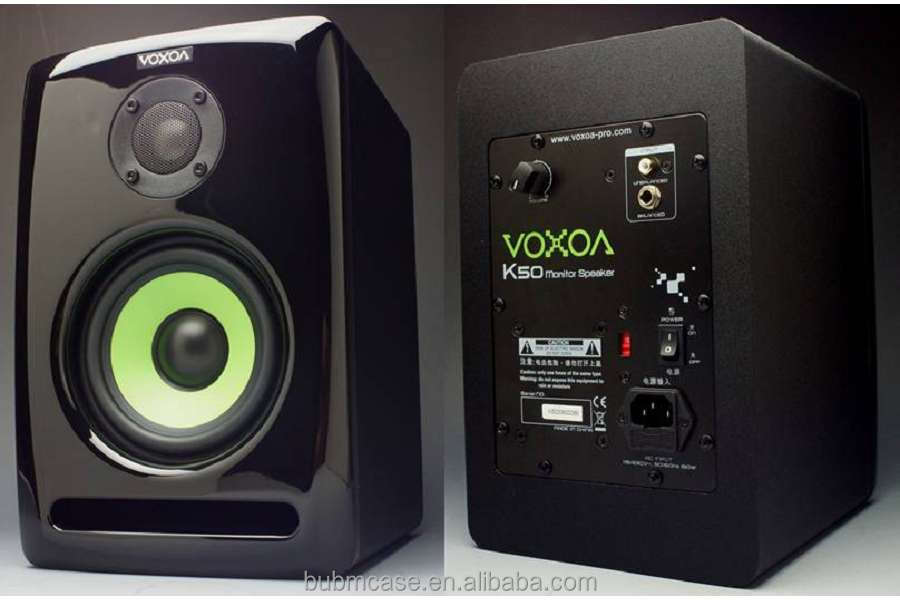 2016 new VOXOA K50 professional Studio Monitor Set Active Monitor Speaker